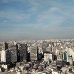 Sao Paulo From the Viewing Deck of the Terraco Italia