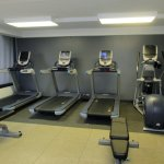 Fitness Center has several treadmills - 2nd Floor w/ card entry