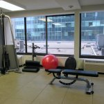 Fitness center 2nd Floor accessible w/ card entry