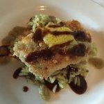 Pepita redfish, poblano rice, tomatillo, ancho, mango butter