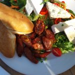 Sausage and cheese platter R120