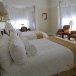 Jr. Suite 607 Sleeping area
