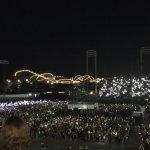 HersheyPark Stadium at night