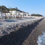 Private sea side cabanas