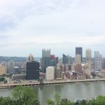 View of downtown Pittsburgh from Mt. Washington