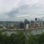 Panoramic View of downtown Pittsburgh from Mt. Washington
