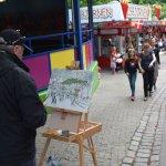 Artist at Bakken