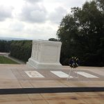 Tomb of the Unknowns on a misty July morning.