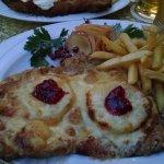 Hawaiian schnitzel...yum