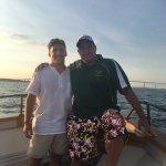 Gansett Cruises- Newport, Rhode Island- Derek Sabedra and Son, Alex
