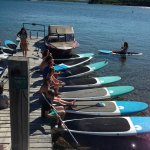 Paddle board rentals from Blakiston and Company Adventure Rentals