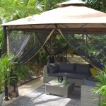 Gazebo lounge area.