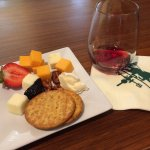 Complimentary wine and cheese tasting every evening