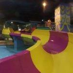 Water slide for kids below 140cm