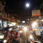 Shopping and night markets just up the road.