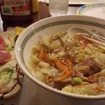 sashimi and ramen