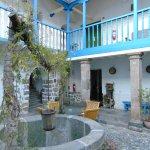 Inkarri Hostal's charming courtyard!