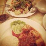 rice with Tau Foo - tomato sauce with mince pork