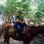 Horseback riding located one mile from Tenaya Lodge