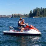 Waverunner rentals booked through Tenaya Lodge at Bass Lake