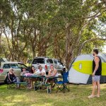 Powered and Unpowered Camping Sites