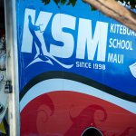 Look for the KSM van down at Kite Beach. Best place to learn kiteboarding on Maui!
