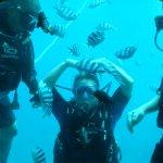 可以跟外面潛水的人互動