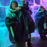 inside ice bar
