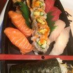 A sushi boat