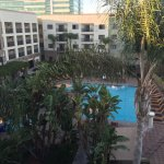 Courtyard by Marriott Central SD - view from our Room 402