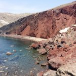 Photo de Red Beach