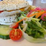 Goats cheese panini