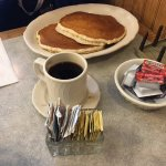 Good pancakes and coffee