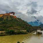 Dzong under construction
