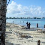 view along beach towards Bayahibe