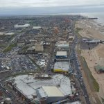 Some pictures of hotel garden and of views in Blackpool
