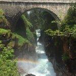 Pont d'Espagne (côté cascade)