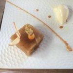 confit de pommes glace vanille