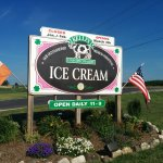 When you see this sign you're in the right place for great ice cream!