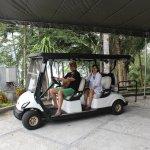 Fasilitas Golf Car buat yang mau keliling Resort