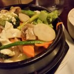 Korean Tofu Hotpot with rice