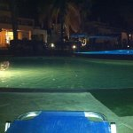CHILLIN BY THE POOL AT NIGHT