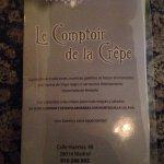 Photo de LE COMPTOIR DE LA CREPE