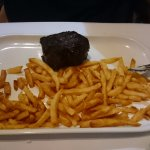 Beef fillet and fries