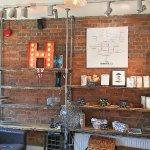 Here Cafe interior