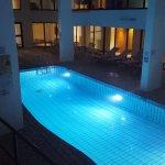Indoor pool on floor 2