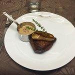 Filet de Boeuf avec son Foie gras poêlé