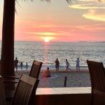 vista del restaurante Sunset