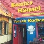 Café und Eisdiele Buntes Häusel