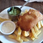 This is our Fish & Chips, £10 for two, Plenty.....